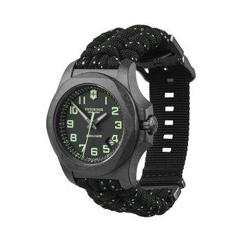 Reloj_I.N.O.X._Carbon_correa_paracord_Negro_Victorinox_1