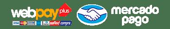 logo Webpay - Mercado Pago Bouden